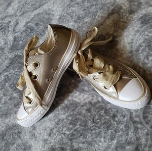 Converse sneakers Metallic Gold